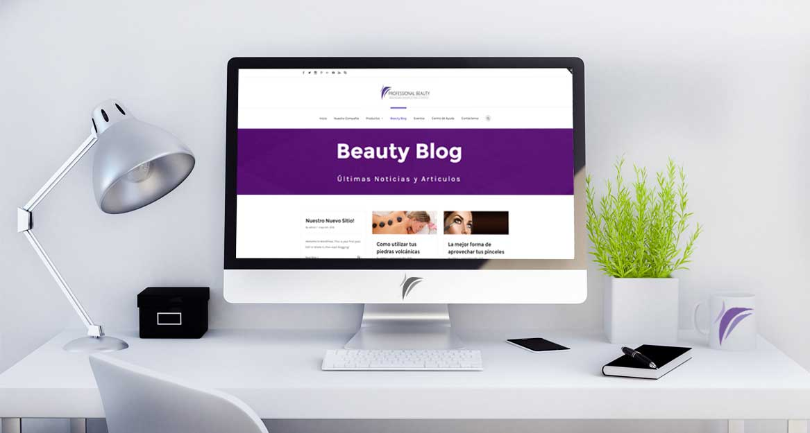 Banner de enlace a Beauty Blog de Professional Beauty