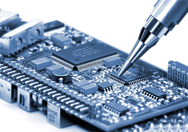 Servicio técnico de un circuito de equipo