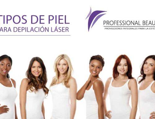 Tipos de piel para depilación láser